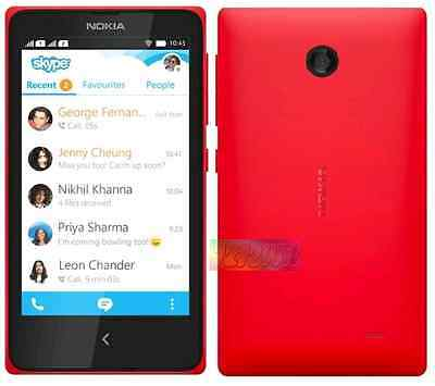 Nokia RM980 X Red Dual 4GB 3.15MP and 3G SEALED EXPRESS SHIP Unlocked Smartphone