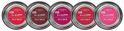 Loreal Hip High Intensity Pigments Jelly Lip Balm Gloss **choose Shade**
