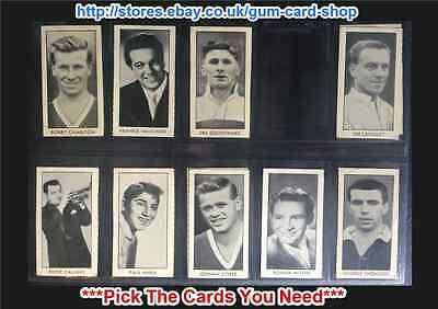 Thomson Stars Of Sport & Entertainment 1958 (Hotspur) (G/F) *Please Select*