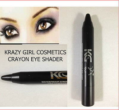 Kg Twist Up Eyeliner / Eye Shader Black Waterproof Jumbo Kajal Pencil Black