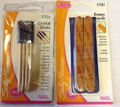 Sally Hansen Crystal Sticks /  Emery Boards For Nails ****choose Type****