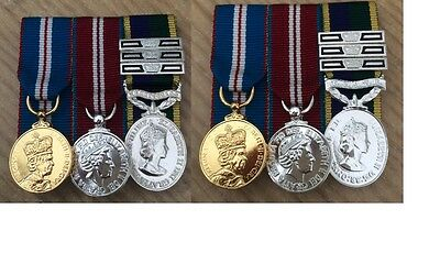 QGJM-QDJM-TAVR/TEM Medal choice of clasps FS and Mini court mounted medals