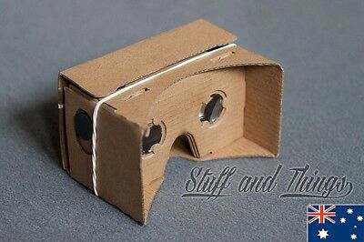 Google Cardboard - VR Virtual Reality Headset - V1.0 - Android, iPhone
