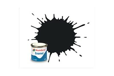 HUMBROL Enamel 21 Noir Brillant – Black Gloss 14ml