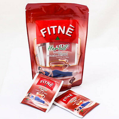 Original Fitne Herbal Tea Infusion Slimming Diet Weight Loss Detox Flavored Herb