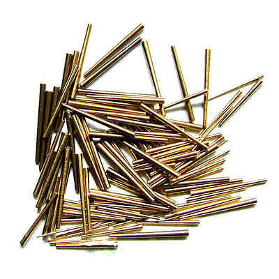 100 Graded Brass Clock Pins Sizes 1 - 6 • EUR 8,34