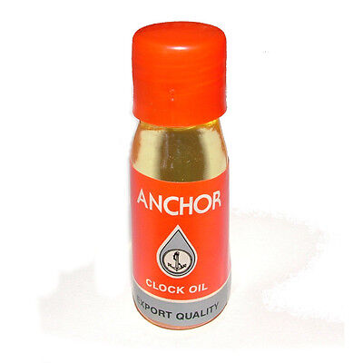 Superfine Anchor Clock Oil For Alarm and Other Small Clocks