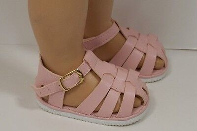LT (Light) PINK Fisherman Sandals Doll Shoes For Chatty Cathy (Debs)
