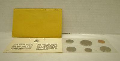 1969 Canada Uncirculated Proof Like Pl Coin Set With Envelope & Coa
