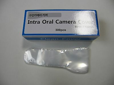"Dental Intra Oral Camera hygiene cover sleeves 300sheets 1.37"" x 4.33"""