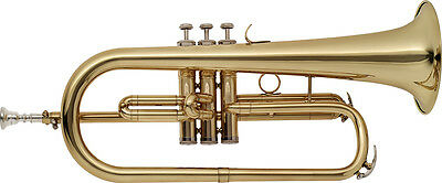 Stagg Flugelhorn WS-FH215 with Hard Shell Case