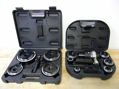 "OPT Tools Map-10 Hydraulic Punch Set 1/2"" to 4"" Hole Diameter"