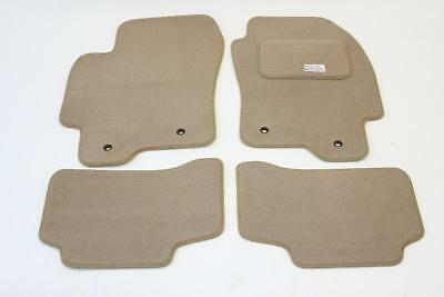 Fully Tailored Car Floor Mats - Jaguar X-TYPE 2001 to 2009, Beige