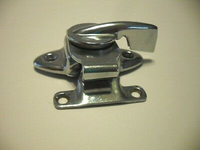 VINTAGE Chrome Plated Steel Window Sash Lock Good Pre-owned Condition!