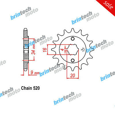 2006 For HYOSUNG GT250 R JT Front Sprocket OEM Pitch 15T - 51