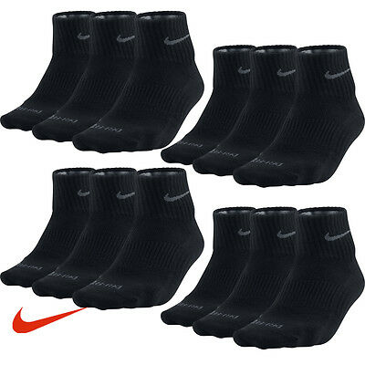 6 Paar NIKE Dri-FIT NoShow Sneaker Socken schwarz 34-38 (S) 6er Pack Low Cut