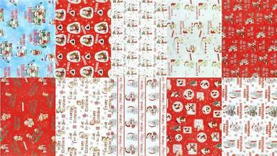 10 Assorted Sheets Thick Christmas Gift Wrapping Paper - Modern Designs