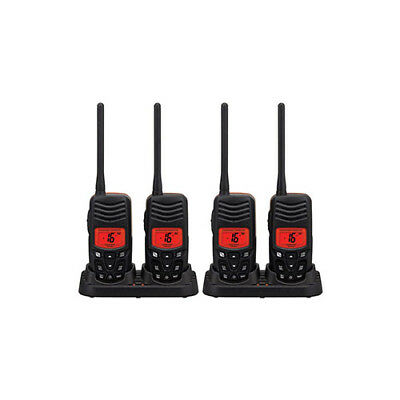 Standard Horizon HX100 (4 Pack) Handheld VHF Radio Twin Pack