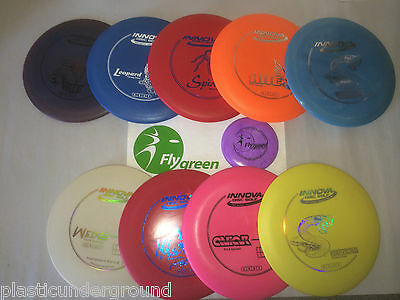 New Frisbee Disc Golf Innova Build Your Own Set 9 Disks. Pick From 40+ Choices