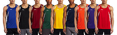 ASICS Men's Interval Sleeveless Athletic Workout Singlet Tank Shirt, Many Colors