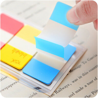 Rainbow Flags Cute Transparent Sticker Post Bookmark Sticky Notes Point Mark