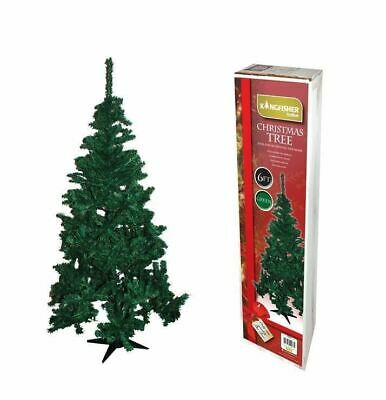 Kingfisher Christmas X-Mas Tree For Party Artificial Celebration 6Ft - Green