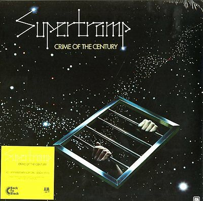 SUPERTRAMP CRIME OF THE CENTURY VINILE LP 180 GRAMMI 40Th ANNIVERSARY EDITION !