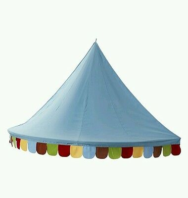 IKEA Mysig Children Over Bed Canopy Kids Circus Wall Tent Decoration