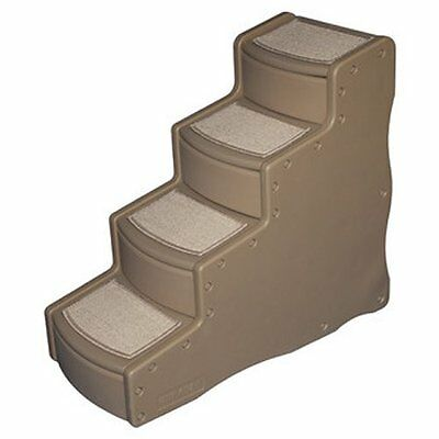 "Pet Gear Easy Step IV Dog Steps in Tan Color are 30"" High for pets up to 150#"