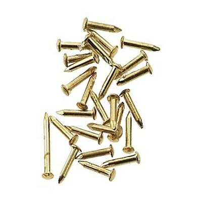 1:12 scale Hardware Brass Pointed Pin Nails 4mm (100)