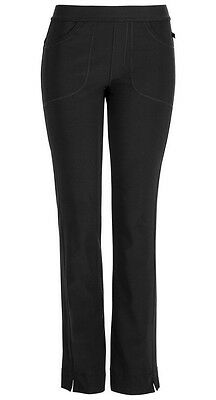 Scrubs Cherokee Infinity Low-Rise Slim Pull-on Pant 1124A Black FREE SHIPPING
