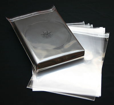 2000 Pcs. DVD Case With Seal For Case Up to 27mm Thick