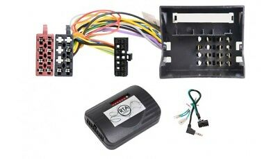 SEAT Exeo without Soundsystem; Car Radio Adapter + Steering Wheel Adapter Cable