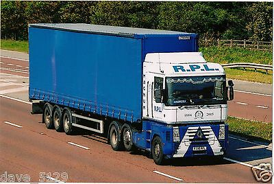Truck Photo: RPL Transport Ltd - RENAULT MAGNUM - R300 RPL - Milton Keynes