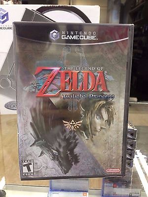 The Legend of Zelda Twilight Princess Gamecube Wii Brand New NTSC Factory SEAL