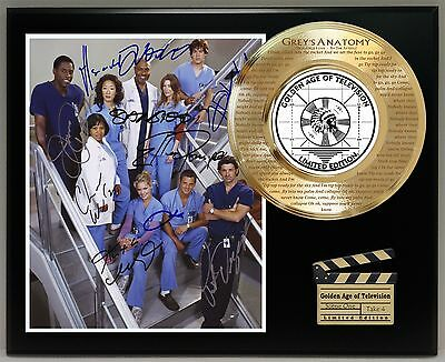 Grey's Anatomy Ltd Edition Signature And Theme Song Series Display