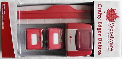Woodware New Crafty Edger Deluxe + Two Cassette punches - CP43-DLSET