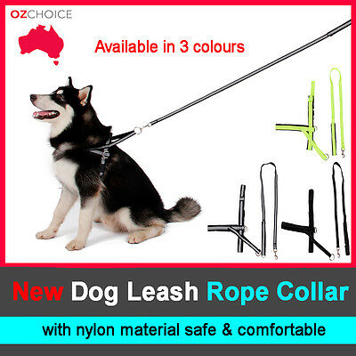 Dog Harness collar Lead leash strap chain Adjustable for Dog Puppy Pet