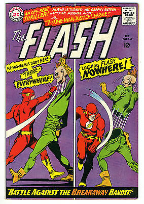 The Flash #158 F/VF 7.0