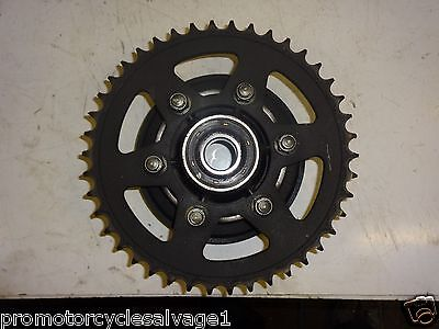 Kawasaki Z 1000 2010 2011 2012 2013:sprocket & Carrier - Rear:used Motorcycle