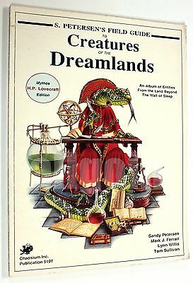 Call of Cthulhu FIELD GUIDE TO CREATURES OF THE DREAMLANDS 1989 Chaosium #5107