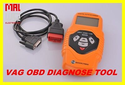 OBD I & II Diagnosis T55, Airbag, ABS, Plain-text display fits at VW Crafter