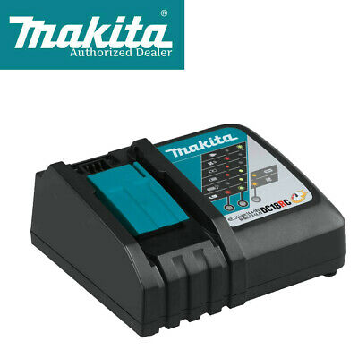 Makita DC18RC Rapid Fast Lithium-Ion Battery Charger (BL1815, BL1820, BL1830)