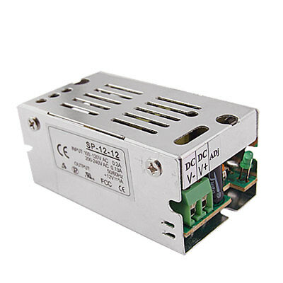 DC 12V 1A 12W Switch Switching Power Supply Transformer for LED Strip Light CCTV