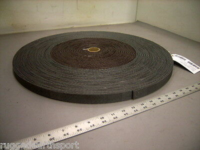 "Gray Military 1"" Inch Wide Nylon Textile Webbing 3,500 lb Mil-Spec -100 yd Roll"