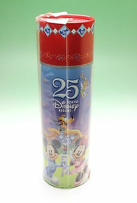 Tokyo Disney Resort 25th Anniversary Coke Coca Cola Bottle 2008 Factory Sealed