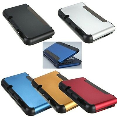 Aluminium Metal Skin Protective Case Cover For 2014ver NEW Nintendo 3DS XL/LL