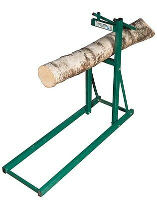 Smart Wood Log Holder For Chainsaw Saw Horse
