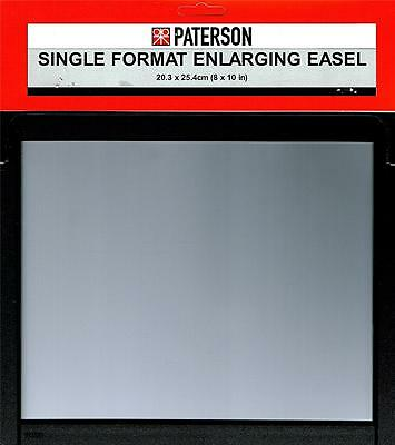Paterson Single Format Darkroom Photographic Enlarging Easel : 8x10 Format