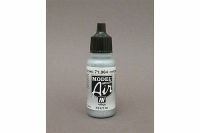 VALLEJO Model Air 71.064 Chrome (Metallic) 17ml